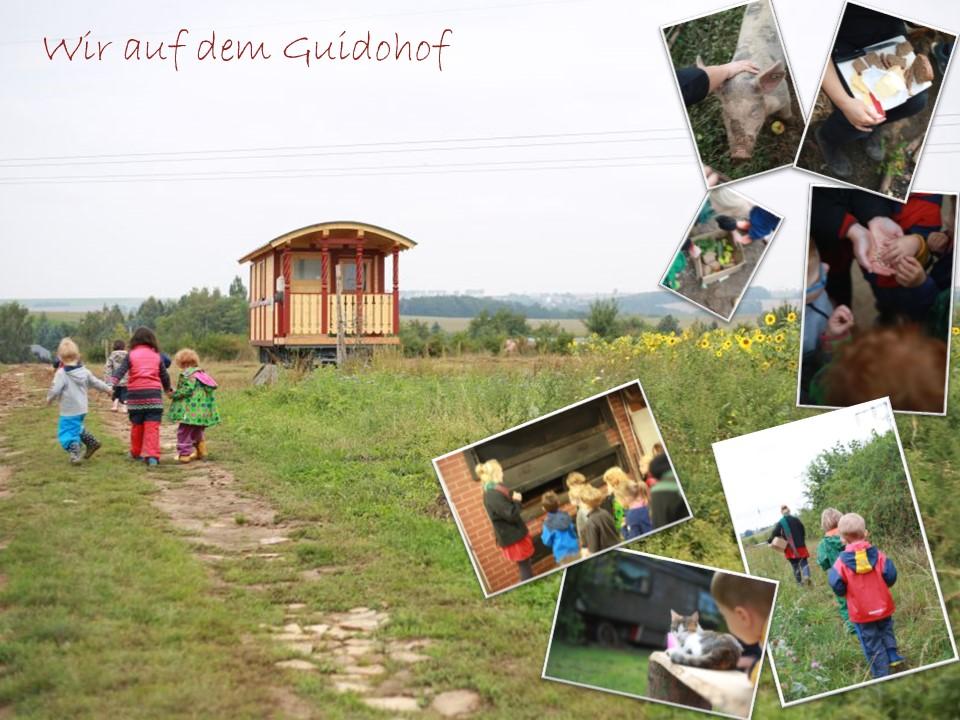 Besuch auf dem Guidohof